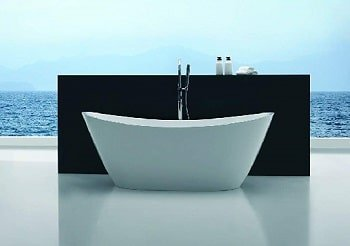 Empava freestanding soaking tub