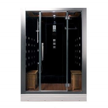 Ariel Platinum DZ972-1F8-BLK Black Steam Shower