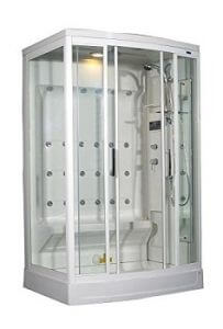 Aston ZA219-R 24 Body Jets Steam Shower, 52-Inch x 40-Inch x 85-Inch