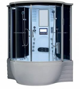 Florence Steam Shower Sauna With Jetted Jacuzzi Whirlpool Mage