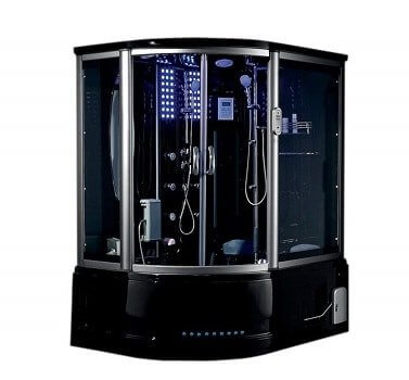 Lifetime Bath Mind Milano Acrylic Steam Shower Unit Entertainment System
