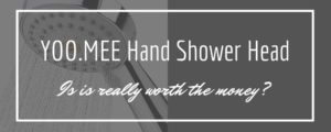 YOO.MEE High-Pressure - hand shower head