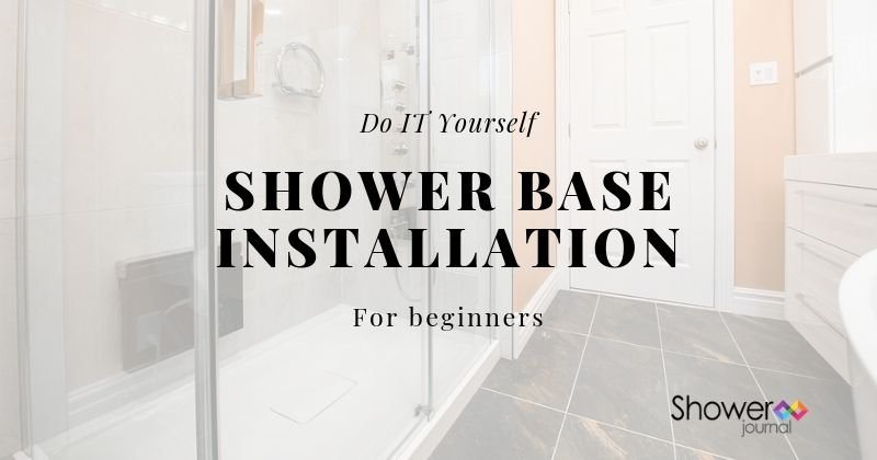 Shower Base Installation